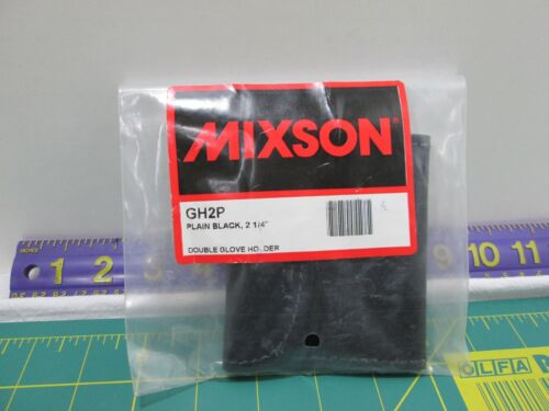"MIXSON GH2P PLAIN BLACK 2 1/4"" SURGICAL GLOVE HOLDER"