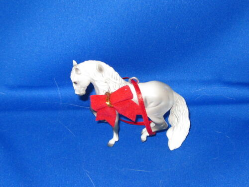 Custom Made Christmas Ornament Light Gray Andalusian Horse FREE SHIPPING