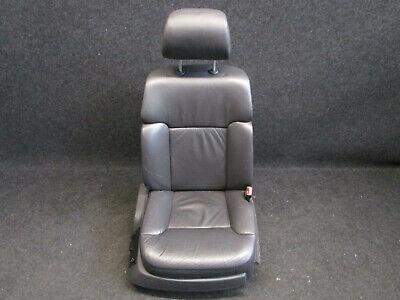 Elektrisch Verstellbare Leder (Beifahrersitz LEDER VW Phaeton Sitz vorne elektrisch verstellbar ANTHRAZIT)