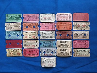 Vintage Movie & Drive-In Theatre (Cinema) Tickets  *** Make Your Own Lot  ***