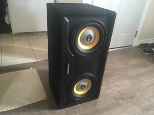 """2 10"""" Subwoofers"""