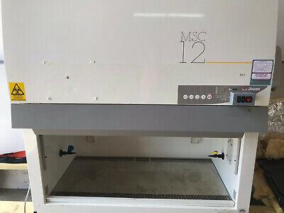 Jouan Biosafety Cabinet Hood Class 2 Ii Msc12 Hepa Countertop Stand Certified 4