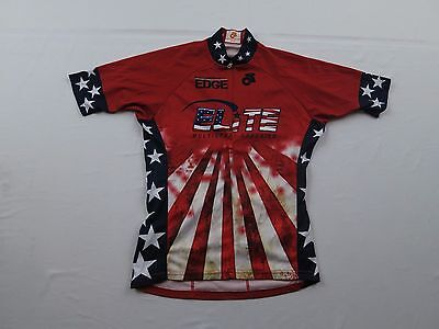 Champ Sys Womens Elite Multisport Coaching USA Flag Sz S Bike Cycling  Jersey MTB d053b57b2