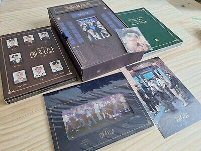 BTS 5th Muster Magic Shop DVD Full Set with Namjoon RM Photocard