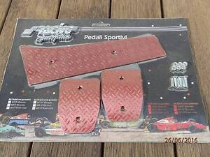 Simoni Racing - Annondised red aluminum pedal covers Northmead Parramatta Area Preview