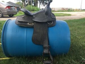 14 inch western saddle for sale