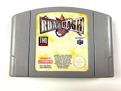 Road Rash - N64 Nintendo 64 PAL EUR