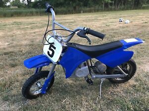 Razor MX350 electric dirt bike includes charger