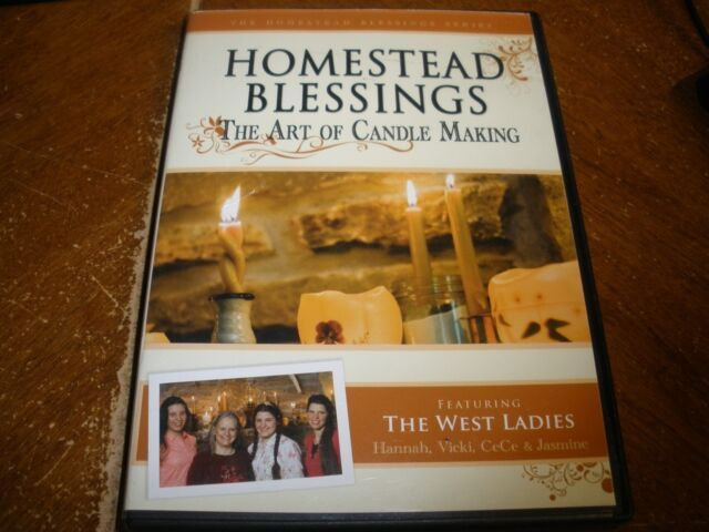 Homestead Blessings: The Art of Candle Making (DVD