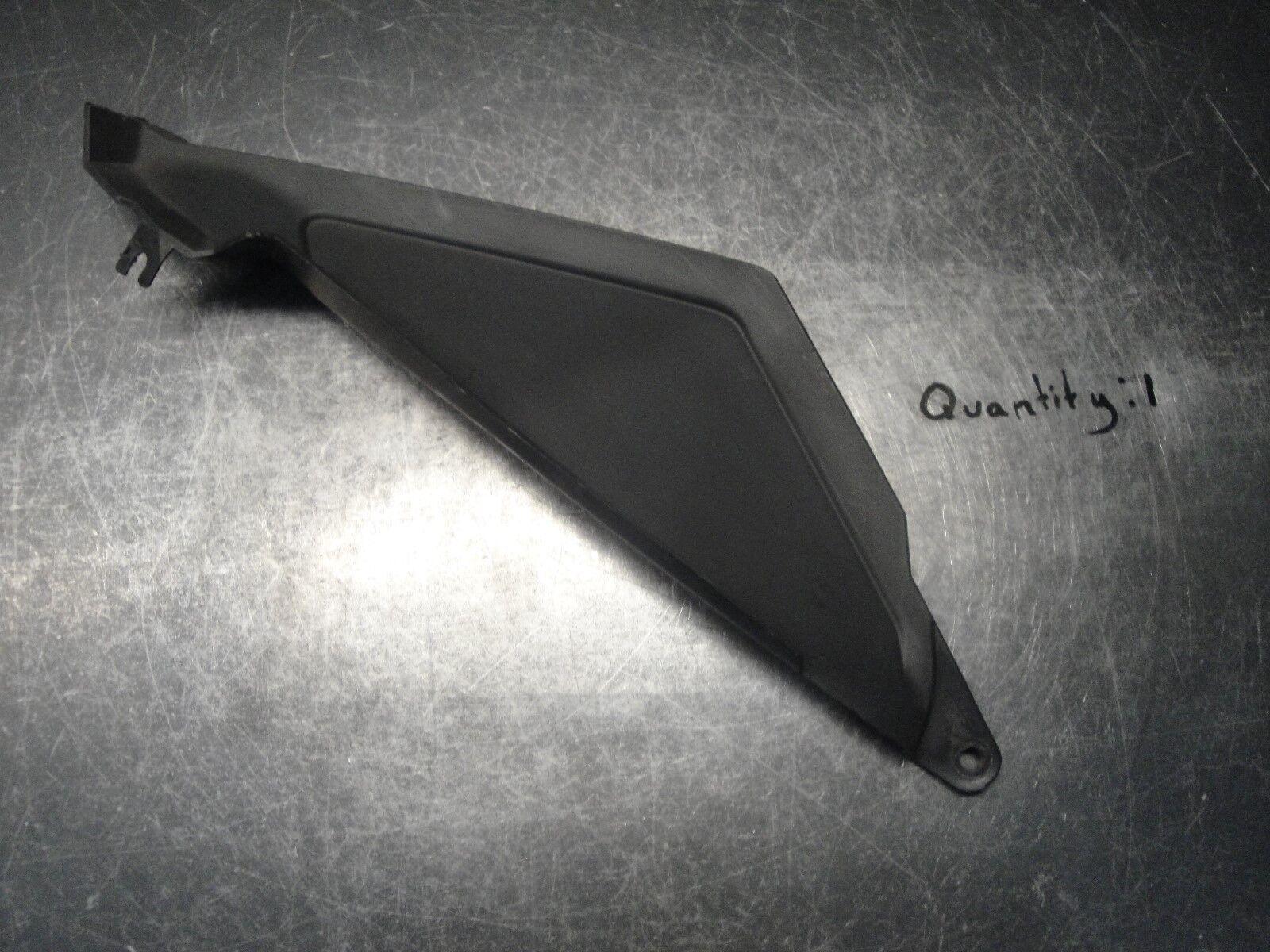 SKIDOO  MXZ MXZX BLIZZARD SUMMIT SNOWMOBILE BODY PLASTIC BLACK PANEL