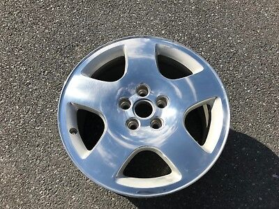 "17"" AUDI A8 1997 1998 1999 2000 2001 2002 2003 17x8 POLISHED OE WHEEL 58712"