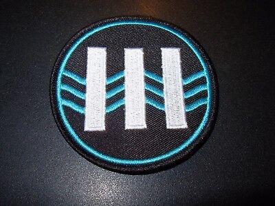 JACK WHITE III Logo Iron-On Patch New Third Man Records Stripes Vault lazaretto Jack White Iii