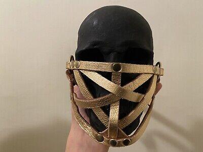 """1/1 Gold Zana Bayne """"Woven Face Mask"""" Harness"""