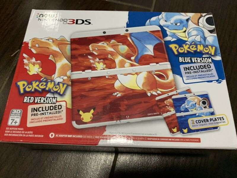 Nintendo New 3DS Pokémon 20th Anniversary Edition White KTRSWNDG