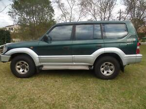TOYOTA PRADO LANDCRUISER 1997 4WD one owner