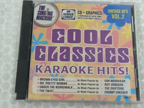 The Singing Machine Karaoke Disc G9212 Cool Classics Vintage 60
