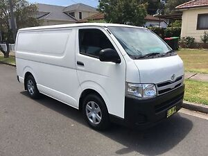 Toyota Hiace LWB 12/2010 Automatic, Turbo Diesel, Low Kms, Ex Fle Lidcombe Auburn Area Preview