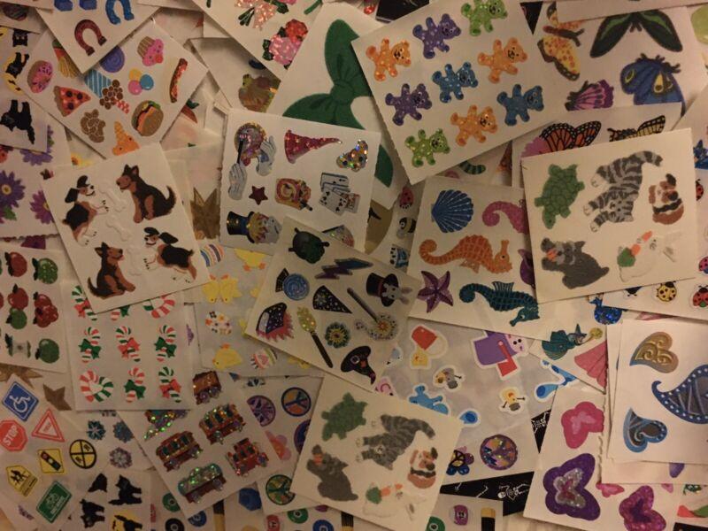 Vtg Sandylion Sticker Random Mod Lot Surprise Bag 12 Count