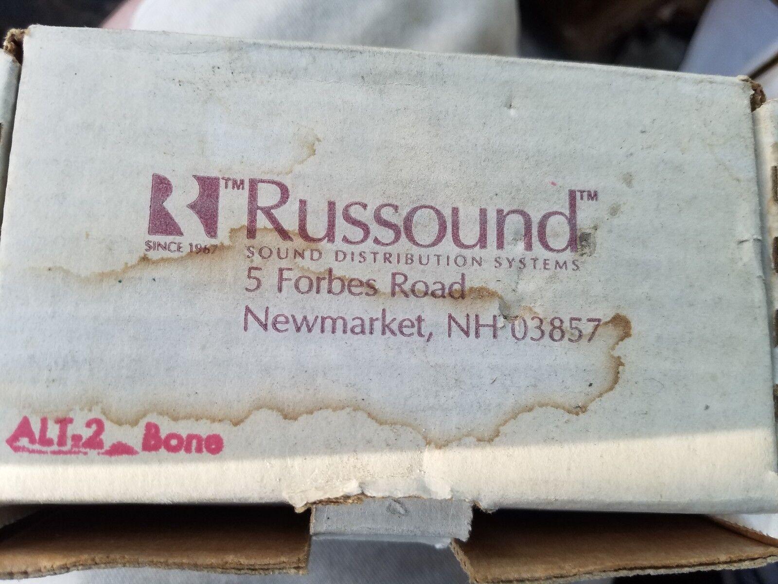 RUSSOUND ALT-2  BONE, 126 STEREO WALL MOUNT VOLUME CONTROL-NEW
