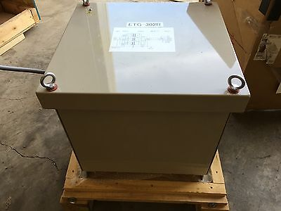 220230240volts Primary 200volts Secondary 15amps 6.2 Kva Isolation Transformer