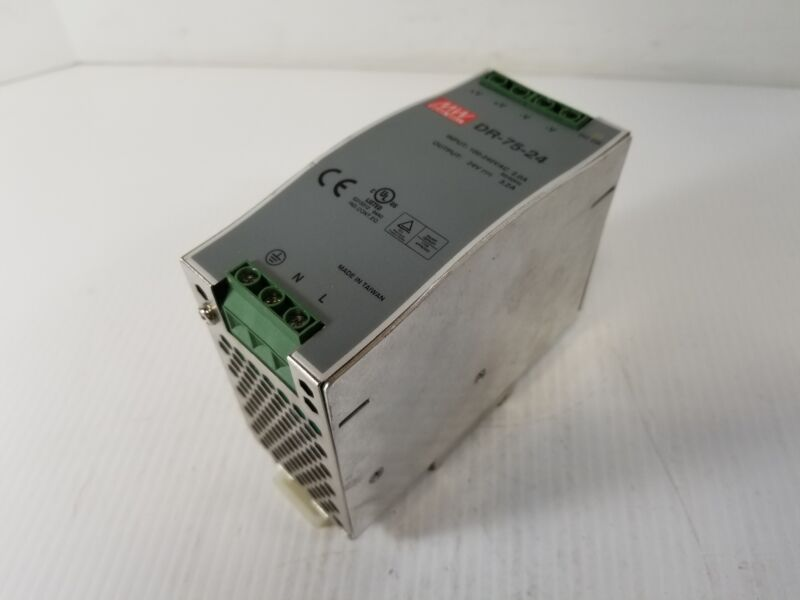 Mean Well DR-75-24 Power Supply 24VDC