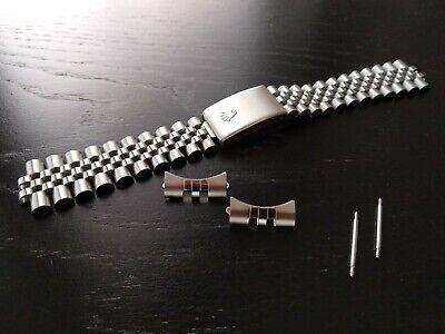 Cinturino jubilee Vintage compatibile 20 mm
