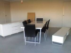 Modern 12 piece Dining and Lounge package for urgent sale Logan Reserve Logan Area Preview