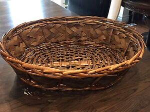 Large Oval Basket - Perfect for Easter!