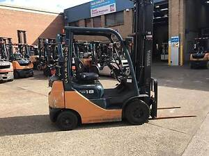 Toyota Forklift 8FG18 1.8 Tonne Wetherill Park Fairfield Area Preview