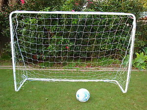 metal soccer football goal with net 1 8 metre wide
