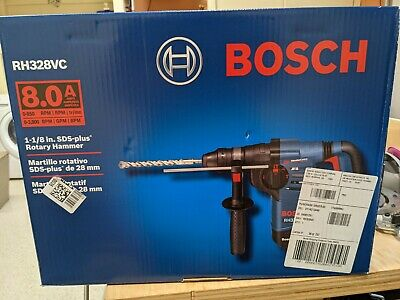 Bosch 1-18-inch 8.0amp Sds Rotary Hammer Rh328vc With Vibration Control