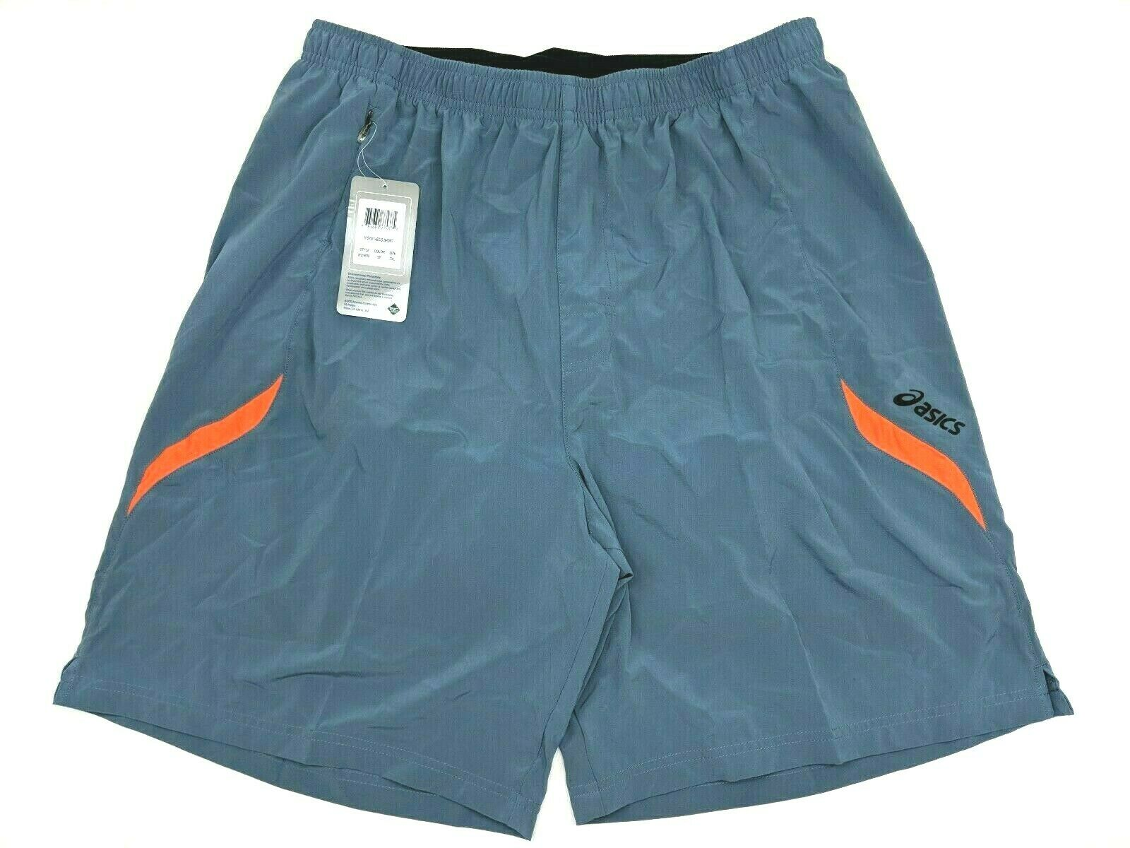 Asics Mens Synthesis Shorts Blue 3In1 4-Way Stretch Size 2XL