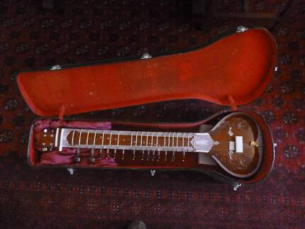 SITAR acoustic with 1/4 inch jack for electric use also.