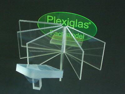 3b8  PLEXIGLAS® Acrylglas Glasklar 2mm Platte Zuschnitt Käfig Voliere Kleintiere