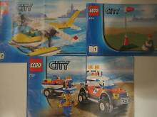 LEGO COAST GUARD 4WD & JET SCOOTER  and  SEAPLANE SET  *****3178 Avoca Beach Gosford Area Preview