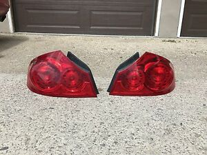 Infiniti tail lights