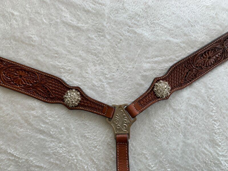 Schutz Brothers Horse Breast Collar Western Bling