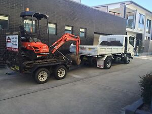Mini excavator for hire dry hire Branxton Singleton Area Preview