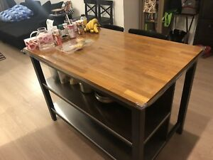 Ikea kitchen island .dining table .desk .chairs