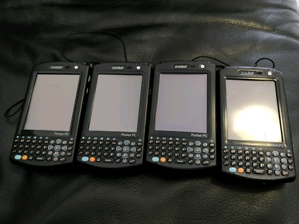 4 x Symbol Pocket PC Scanners