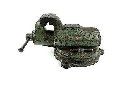 Vintage Antique Fpu 3-78 Jaw Bench Vise Poland Blacksmith Workshop Tool Fup