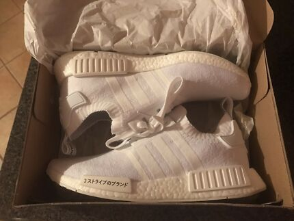 LESS THAN RETAIL ADIDAS JAPAN PK TRIPLE WHITE NMD US 11 DS  East Cannington Canning Area Preview
