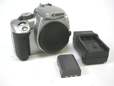Canon EOS XTi Body only (Silver)