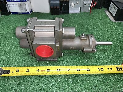 -new- Liquiflo 316 Stainless Gear Pump Cf8m