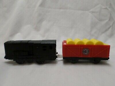 Thomas & Friends Trackmaster Motorized Train Engine ~ Diesel & Barrel Car Mattel