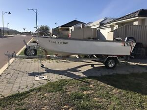 5m Custom made Ali dinghy sold pending swap on Monday