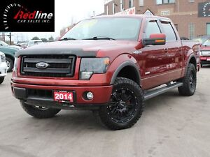 2014 Ford F-150 FX4 EcoBoost 4X4 SuperCrew Navi-Bluetooth-Leathe