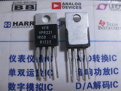 1x Vpr221 1r00 0.1 Vishay Foil Resistors Y09261r00000b0l