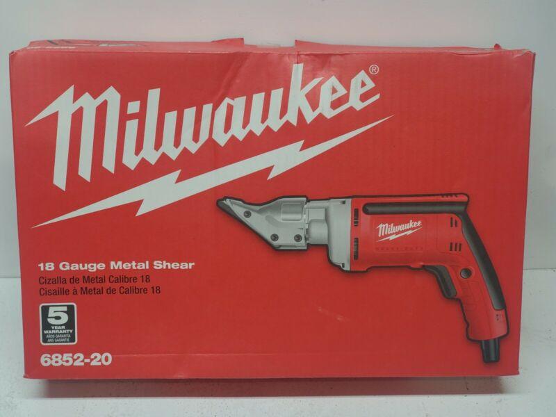 Milwaukee 6852-20 18-Gauge Shear NEW