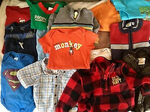 Size 12 Months Boys Clothing/Shoe Lot